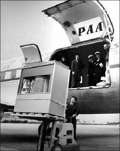 5MB hard drive from 1956 IBM