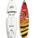 Custom Printed Surfboard USB Flash Drive