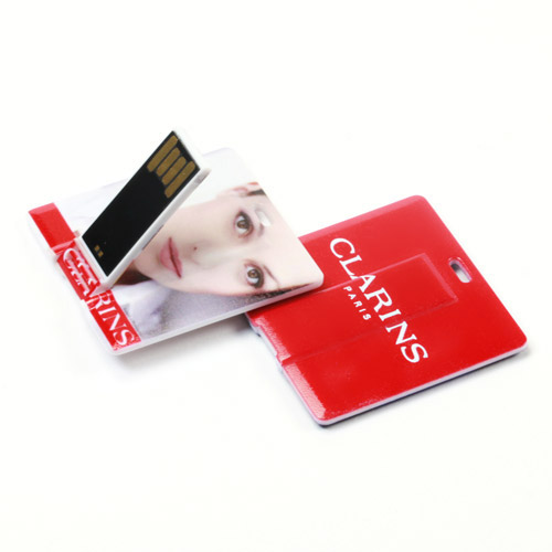 Custom Square Card USB Flash Drive