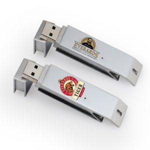 custom bottle opener USB drive