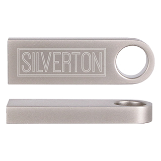 Custom Aluminum USB Flash Drive for keychain