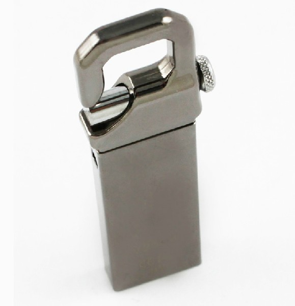 Metal Clasp Flash Drive