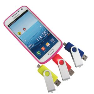 Smartphone USB Flash Drive with Micro USB Port