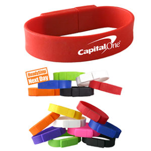 Custom-wristband-flash-drives
