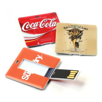 Custom Printed Square Card USB Flash Drive