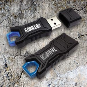 Promotional Gorilla Drives Exclusively at BestCustomFlashDrives